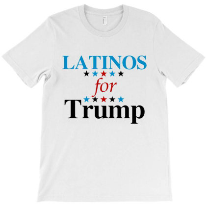 Latinos For Trump T-shirt Designed By Blees Store