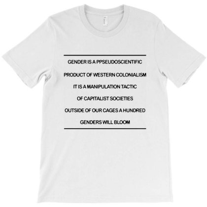 Gender Is A Pseudoscientific Product Of Western Colonialism T-shirt Designed By Blees Store