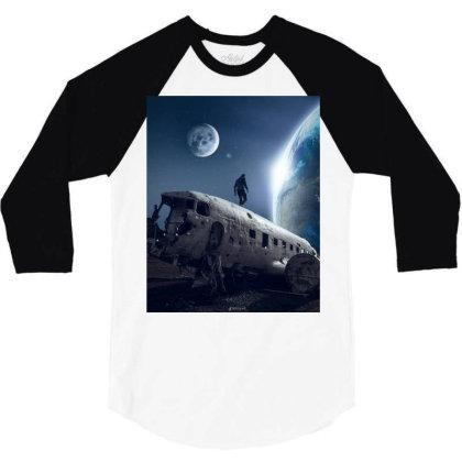Cosmos 3/4 Sleeve Shirt Designed By Erol.psd