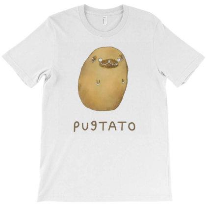 Pugtato T-shirt Designed By Otalotol