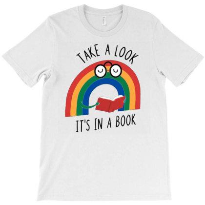 Rainbow Reader T-shirt Designed By Otalotol
