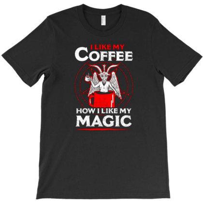 Black Magic T-shirt Designed By Otalotol