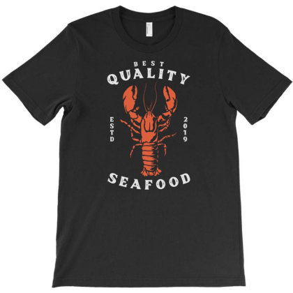 Lobster Seafood T-shirt Designed By Nurart