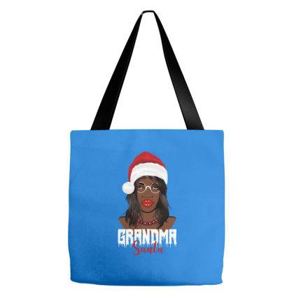 Grandma Santa  Queens Gift Tote Bags Designed By Cogentprint