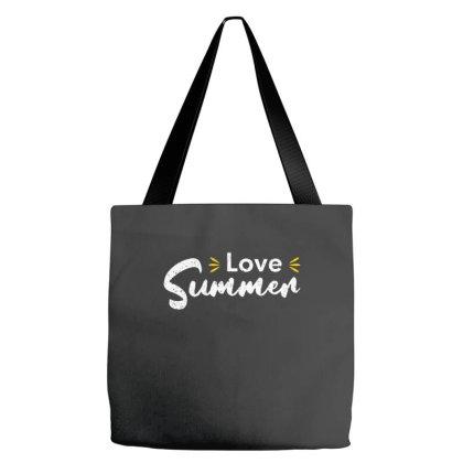 Love Summer Tote Bags Designed By Nurart