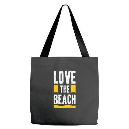 Love The Beach Tote Bags Designed By Nurart
