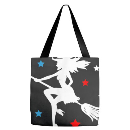 Nasty Woman Riding With Biden Tote Bags Designed By Cuser3143