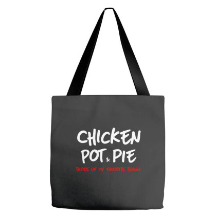 Chicken Pot And Pie Tote Bags Designed By Blees Store