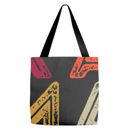 Multi Colors Letters Kamala Tote Bags Designed By Cuser3143
