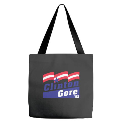 Clinton Gore 92 Election Tote Bags Designed By Blees Store