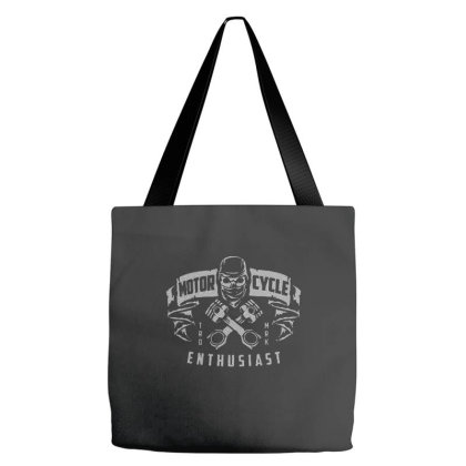 Motorcycle Enthusiast Tote Bags Designed By Nurart