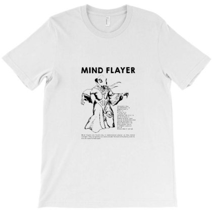 Mind Flayer T-shirt Designed By Verly