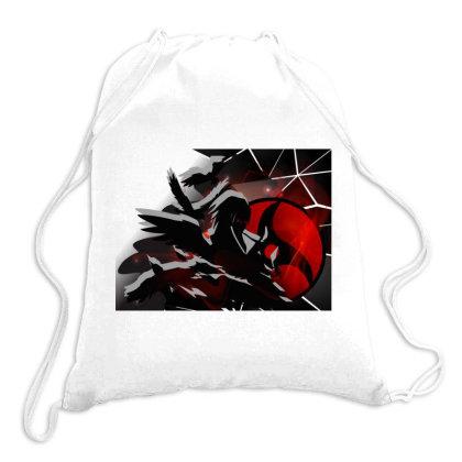 Itachi Uchiha - Shinobi In Words  2 Drawstring Bags Designed By Colle-q