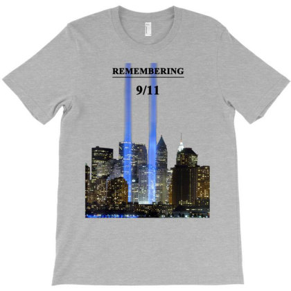 9/11 Remembering T-shirt T-shirt Designed By Conco335@gmail.com