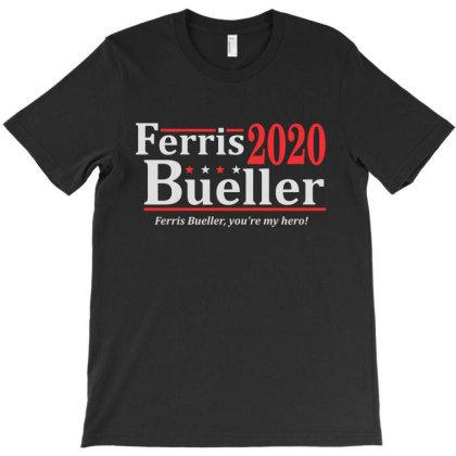 Ferris Bueller 2020 Election T-shirt Designed By La Bold