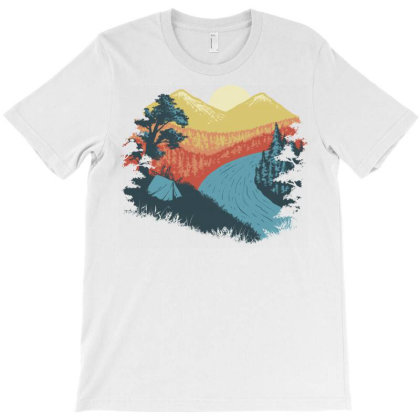 Camp Vibes T-shirt Designed By Quilimo