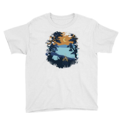 Camp Vibes Youth Tee Designed By Quilimo