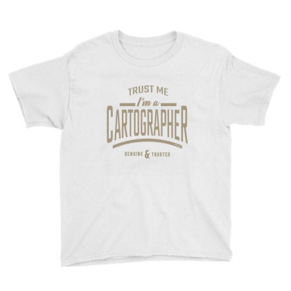 I'm A Cartographer Youth Tee Designed By Rafaellopez