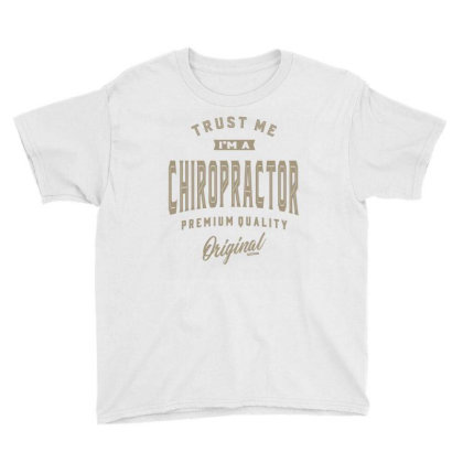 I'm A Chiropractor Youth Tee Designed By Rafaellopez