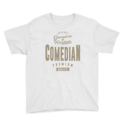 Genuine Comedian Youth Tee Designed By Rafaellopez