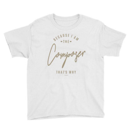 Composer Youth Tee Designed By Rafaellopez