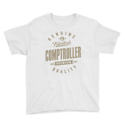 Genuine Comptroller Youth Tee Designed By Rafaellopez