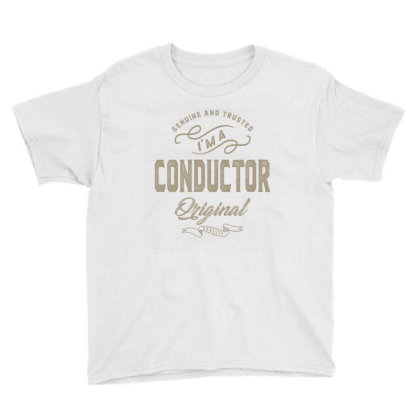 I'm A Conductor Youth Tee Designed By Rafaellopez