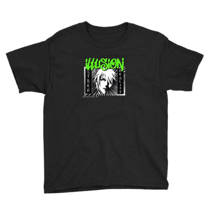 Illusion Youth Tee Designed By Disgus_thing