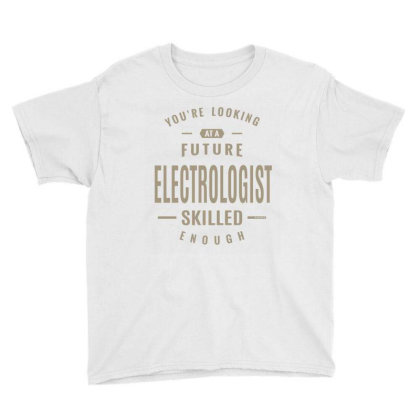 Future Electrologist Youth Tee Designed By Rafaellopez