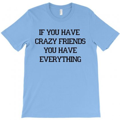 If You Have Crazy Friends T-shirt Designed By Hntllc