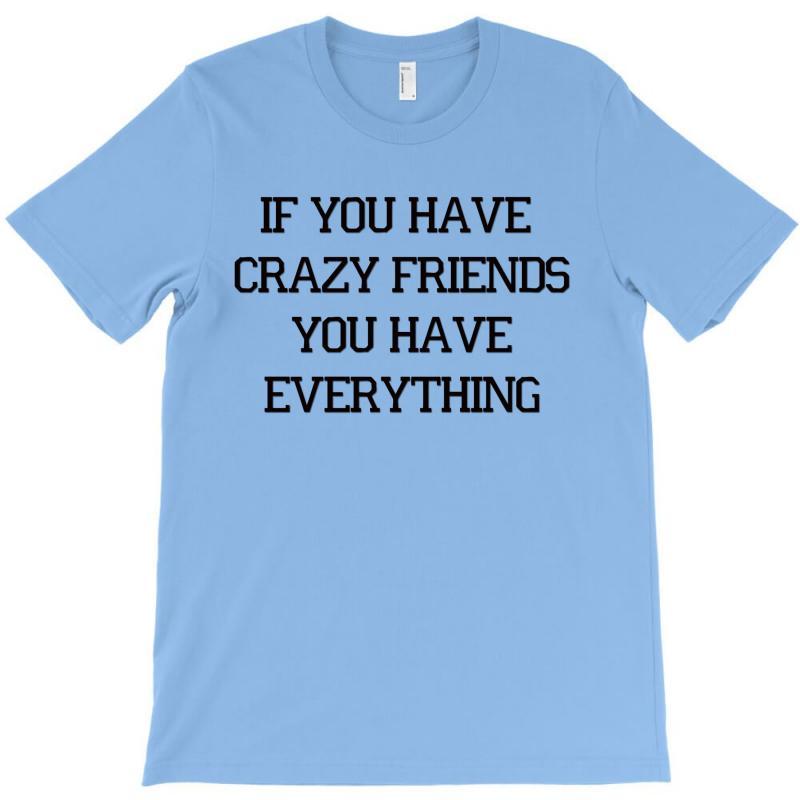If You Have Crazy Friends T-shirt | Artistshot
