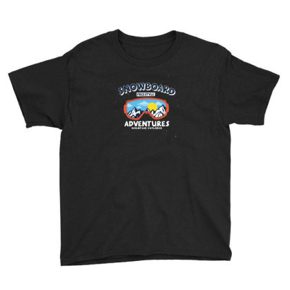 Snowboard Youth Tee Designed By Disgus_thing