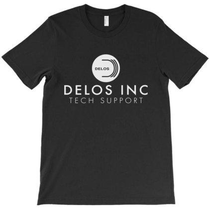 Delos Tech Support Team T-shirt Designed By La Bold
