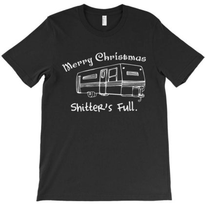 Camper Merry Christmas Shitter's Full T-shirt Designed By La Bold