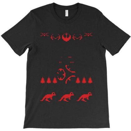 Bb 8 Cheer Christmas T-shirt Designed By La Bold