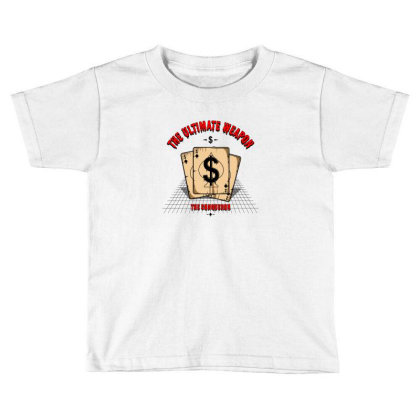 Dollars Toddler T-shirt Designed By Disgus_thing