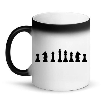 Chess Game Logo Magic Mug Designed By Victor_33
