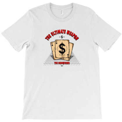 Dollars T-shirt Designed By Disgus_thing
