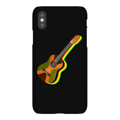 Rastafarian Jamaican Guitar Iphonex Case Designed By Brilian