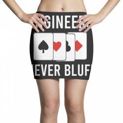 engineers never bluff Mini Skirts | Artistshot