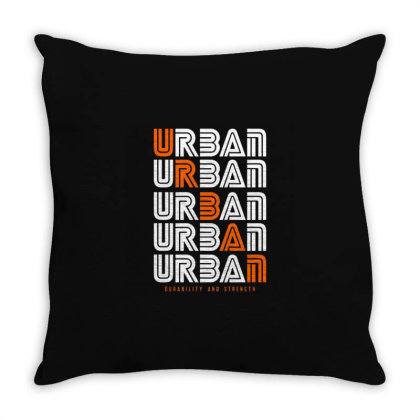 Urban Throw Pillow Designed By Nurart