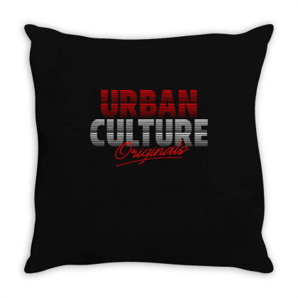 Urban Culture Throw Pillow Designed By Nurart