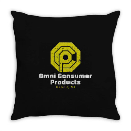 Omni Consumer Products Throw Pillow Designed By Allstar
