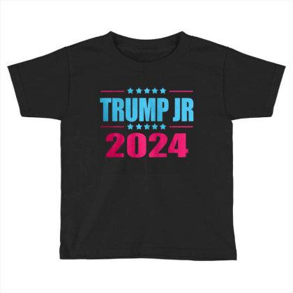 Trump Jr 2024 Toddler T-shirt Designed By Schulz-12