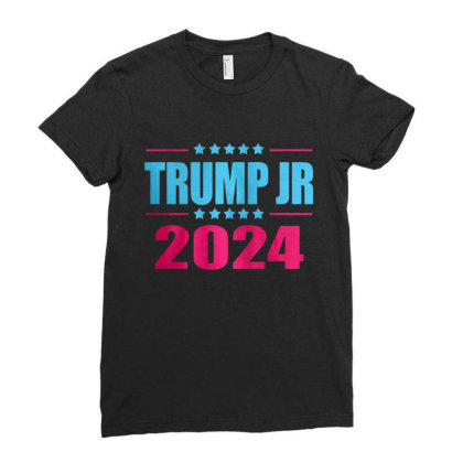 Trump Jr 2024 Ladies Fitted T-shirt Designed By Schulz-12