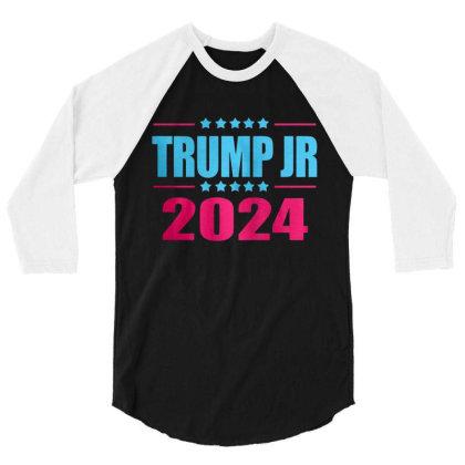 Trump Jr 2024 3/4 Sleeve Shirt Designed By Schulz-12