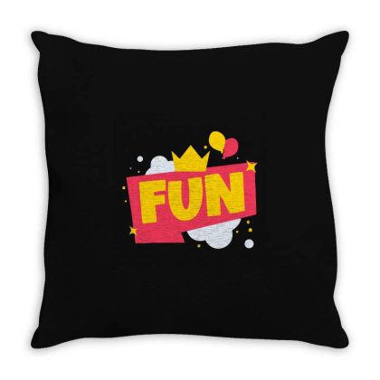Fun Throw Pillow Designed By Victor_33