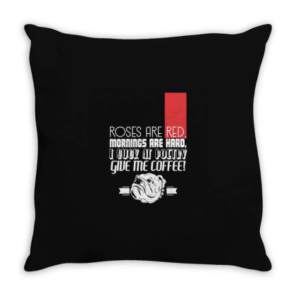Funny Quotes Throw Pillow Designed By Victor_33