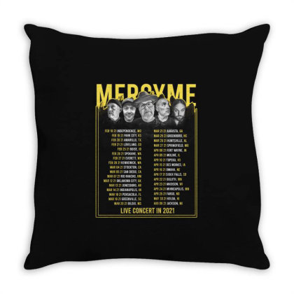New Mercyme, Mac Powell, Micah Tyler Throw Pillow Designed By Erickbastian010190
