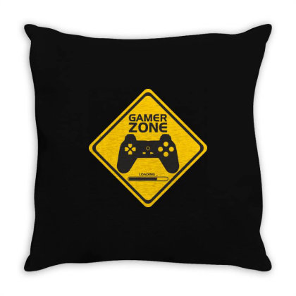 Game Controller Throw Pillow Designed By Victor_33